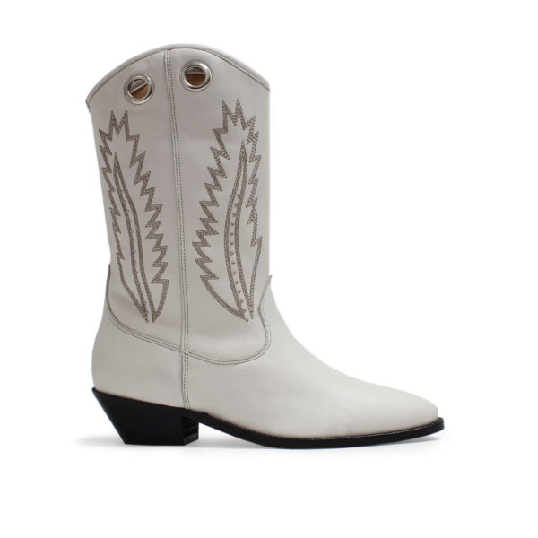 Catarina Martins botas aba softleather blanco