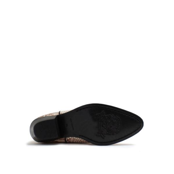 Catarina Martins botas aba softleather blanco cobre